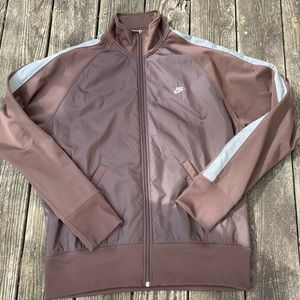 Vintage Nike windbreaker brown size XL